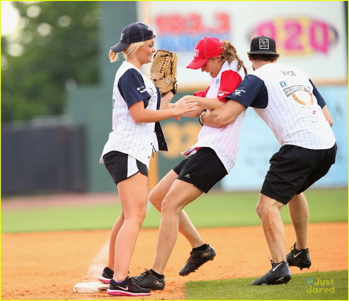lauren alaina city hope softball game 12