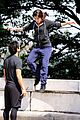 marie avgeropoulos taylor lautner tracers jump 05