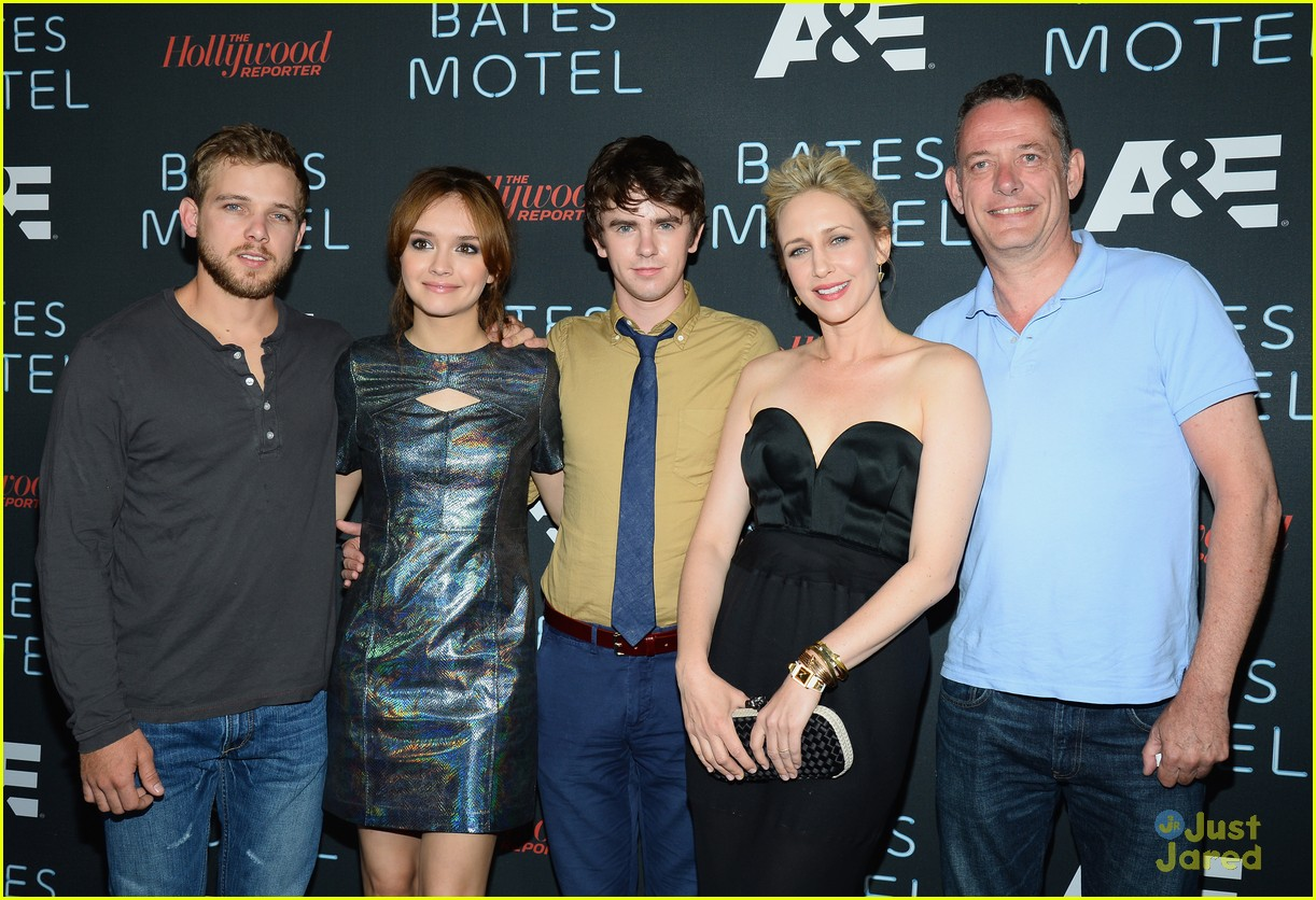 Freddie Highmore: 'Bates Motel' Comic-Con Party! | Photo ...