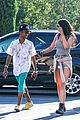 kylie jenner catches a movie with lil twist 29