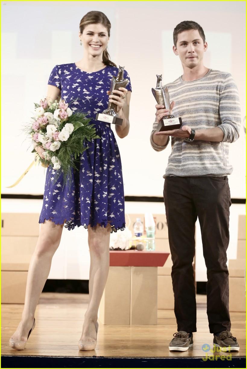 Logan Lerman & Alexandra Daddario: Giffoni Film Festival ...
