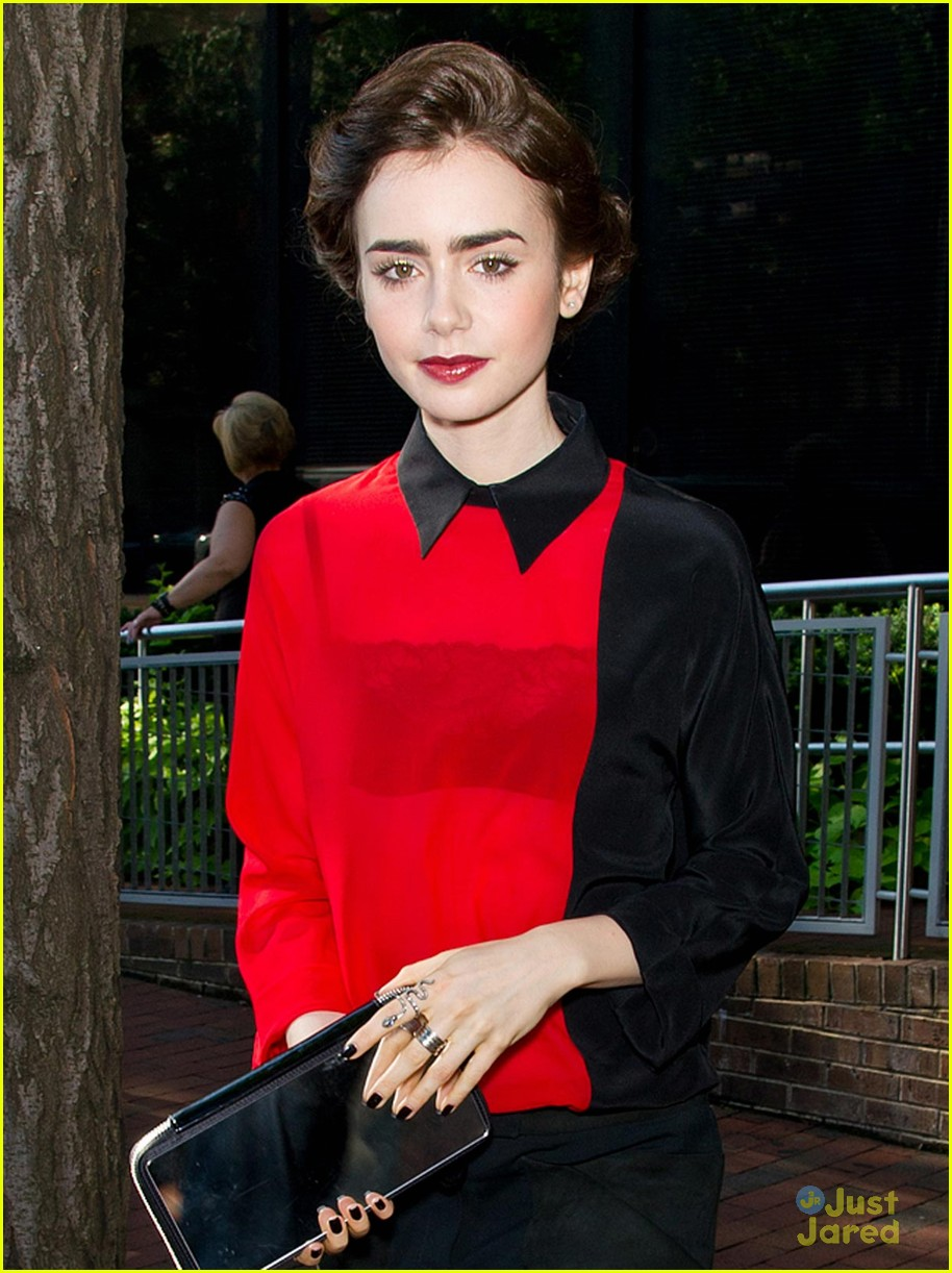 lily collins jamie bower good day hilly 04