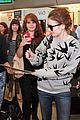 lily collins jamie campbell bower arrive in berlin 29