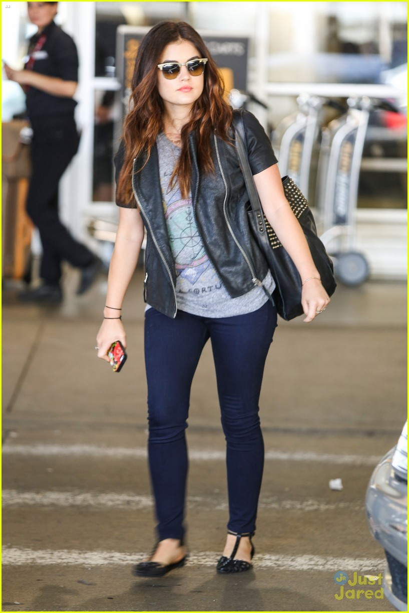 lucy hale says keep your backtoschool style casual
