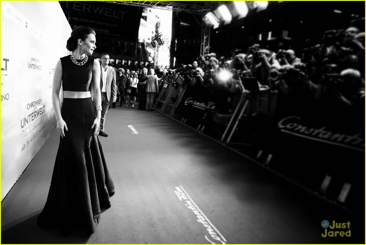lily collins tmi berlin premiere 11