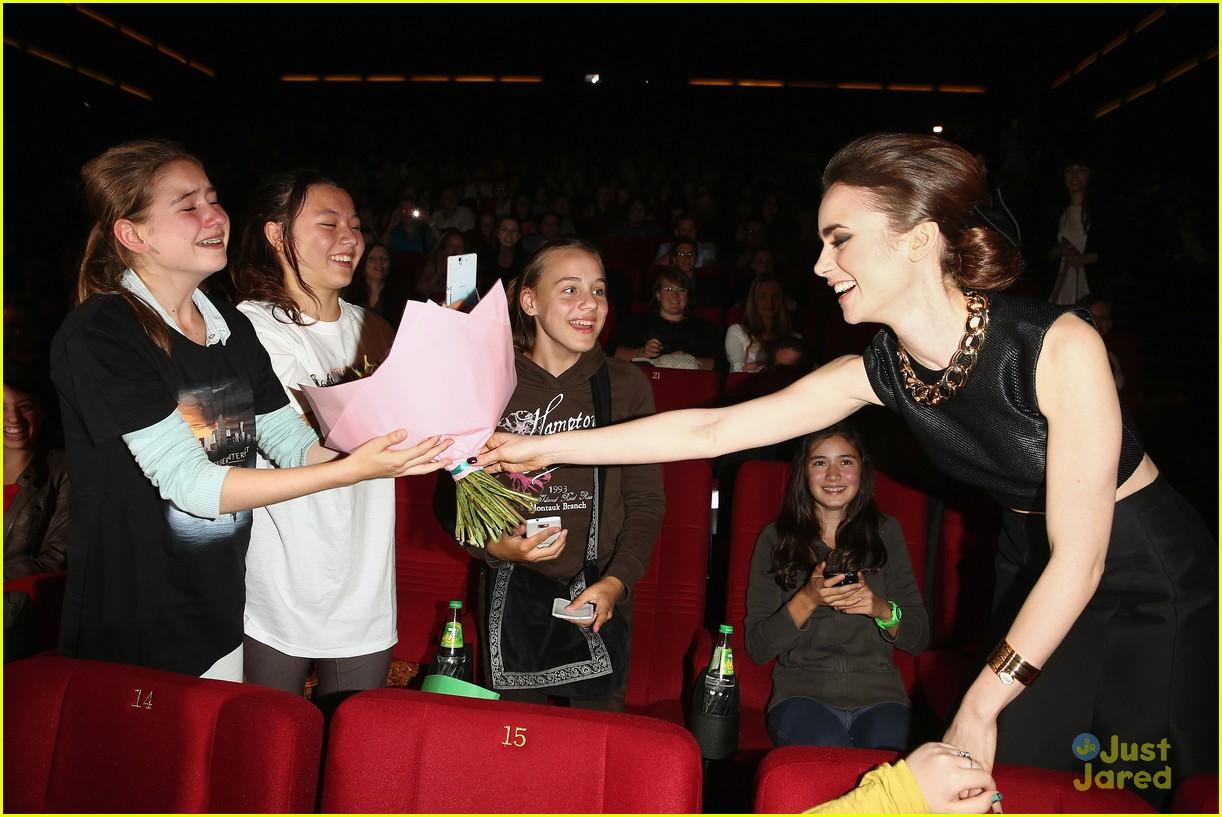 lily collins tmi berlin premiere 18