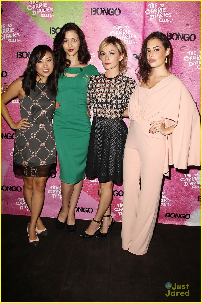 katie findlay ellen wong carrie diaries premiere pair 24