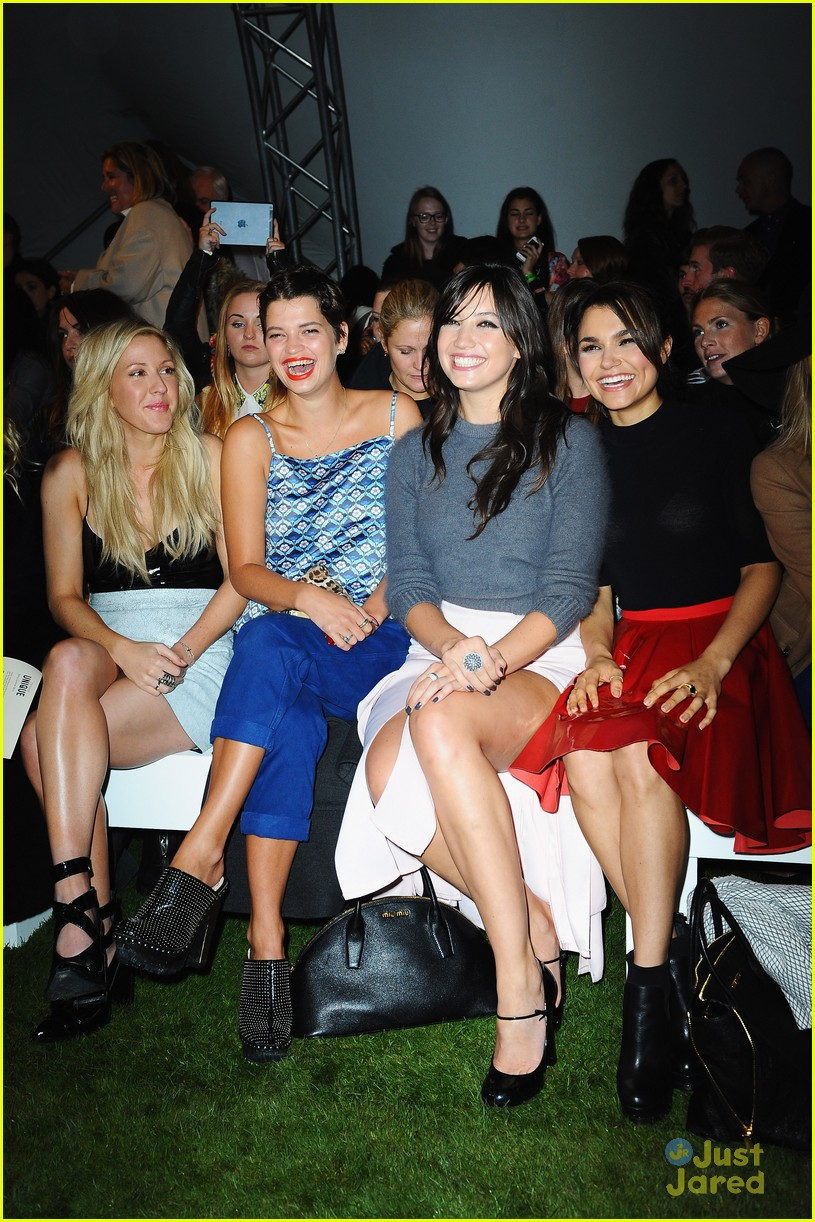 ellie goulding topshop front row 06