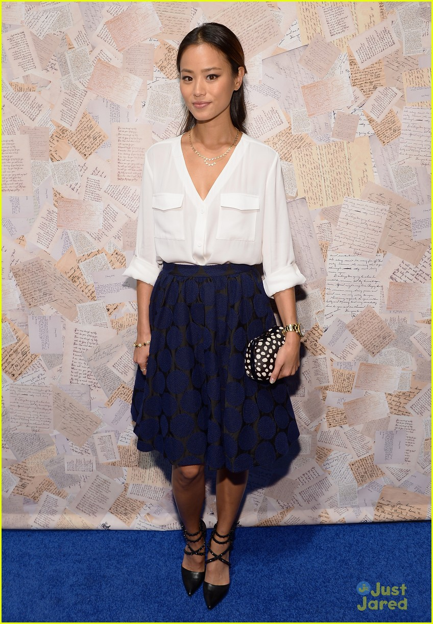 jamie chung kat graham alice olivia fashion show 03