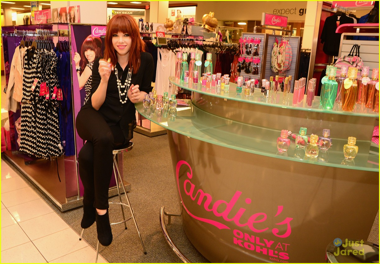 06558ed49765 Carly Rae Jepsen  Candie s Shopping Spree at Kohl s!