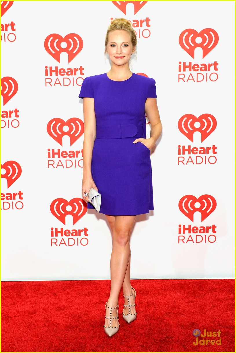 Kat Graham: iHeartRadio Festival with Candice Accola   Photo