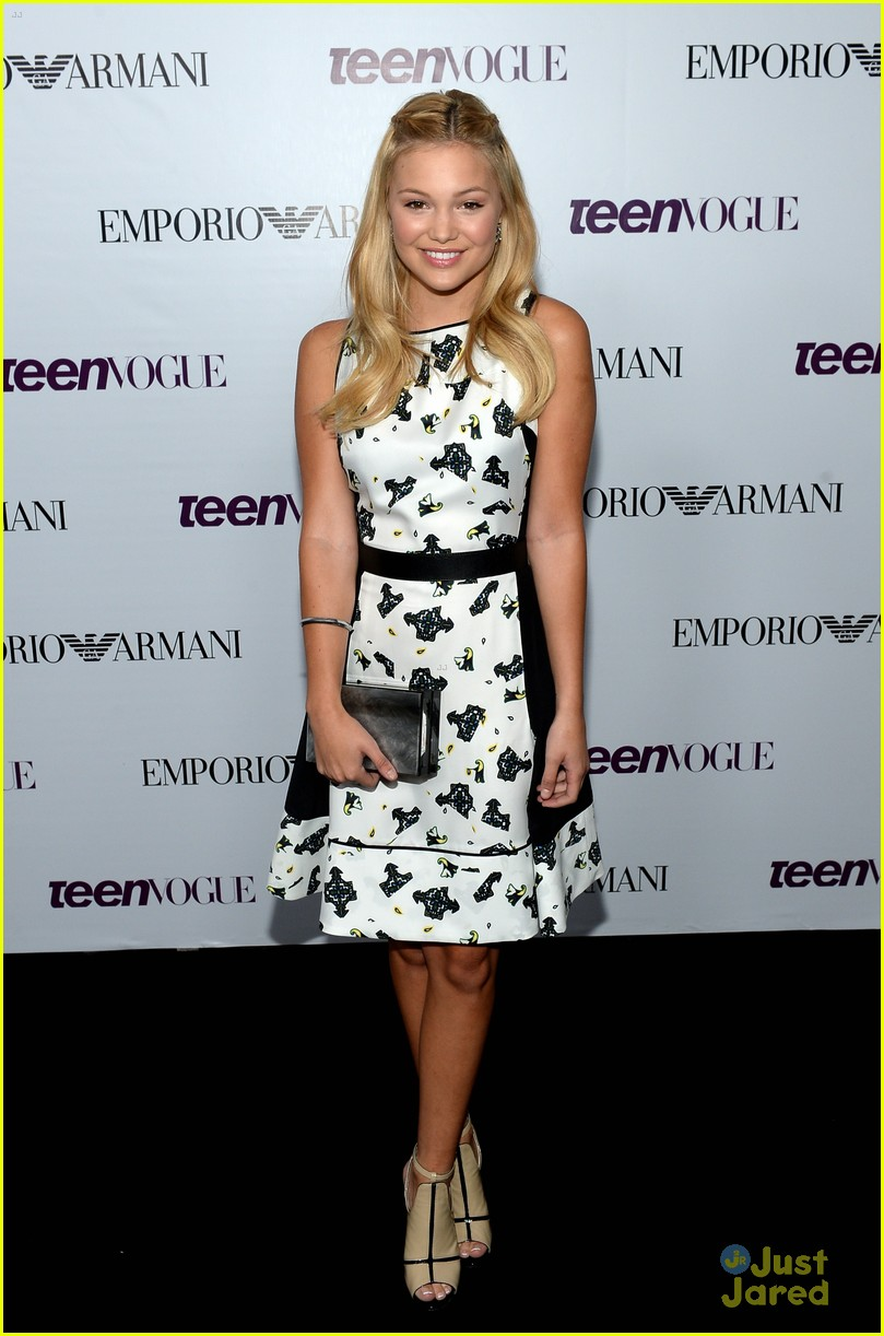 Olivia Holt & Peyton List - Teen Vogue Young Hollywood Party 2013 ...