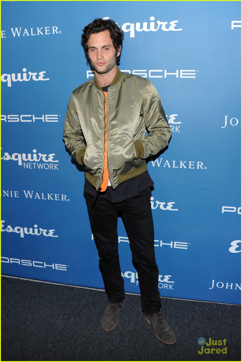 penn badgley esquire anniversary network launch party 03