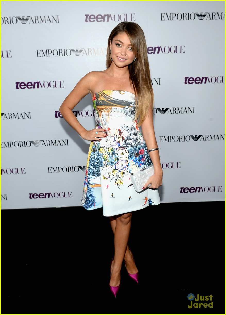 Sarah Hyland & Zoey Deutch - Teen Vogue Young Hollywood Party 2013 ...