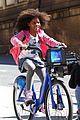 quvenzhane wallis annie bike ride 05