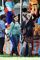 ariel winter nolan gould mf fair filming 05