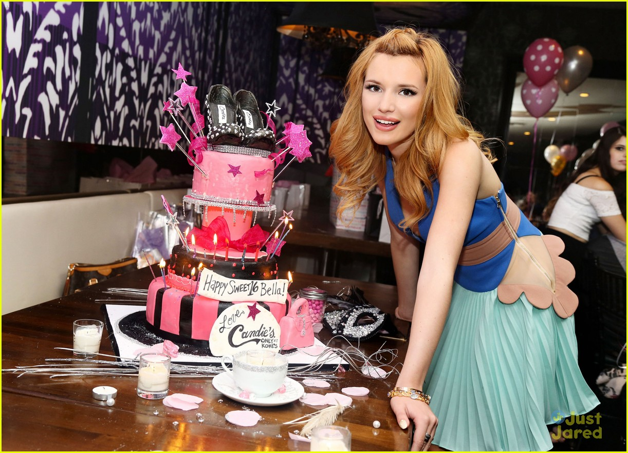 Bella Thorne Sweet 16 Birthday Party Pics 10 Sc 1 St Just Jared Jr