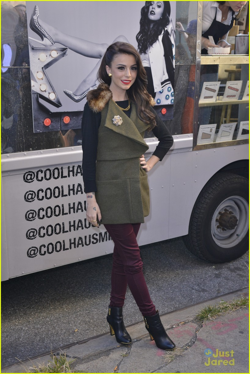 cher lloyd cool haus ice cream 13