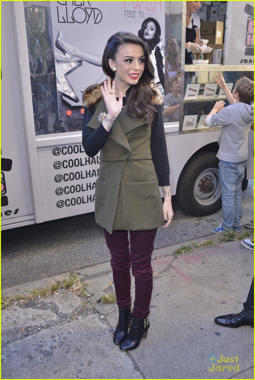 cher lloyd cool haus ice cream 16