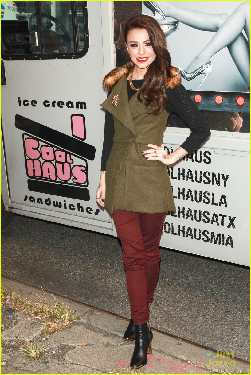 cher lloyd cool haus ice cream 18