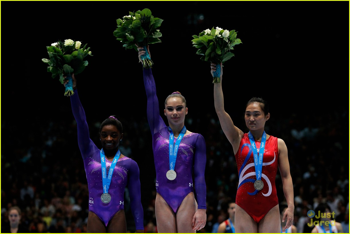 mckayla maroney kyla ross antwerp championships 25