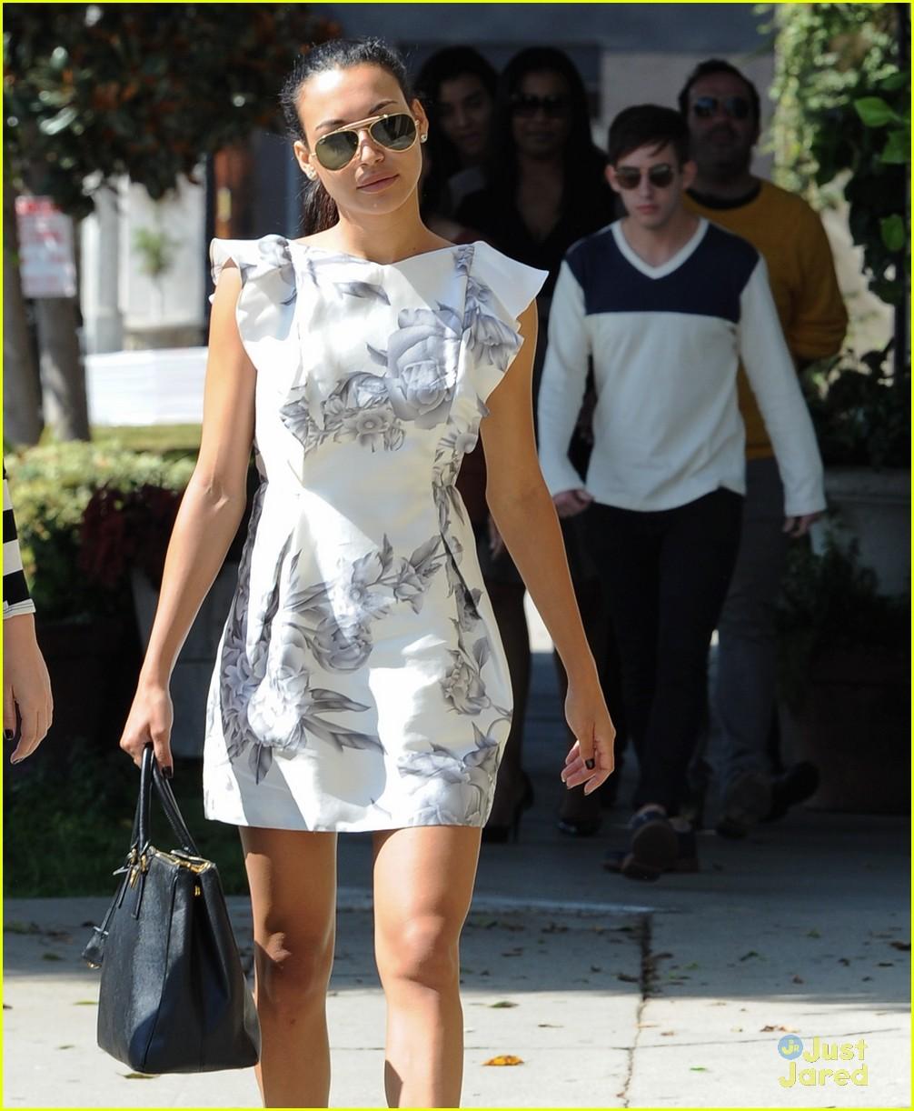 Naya Rivera: Wedding Dress Shopping with Kevin McHale! | Photo ...