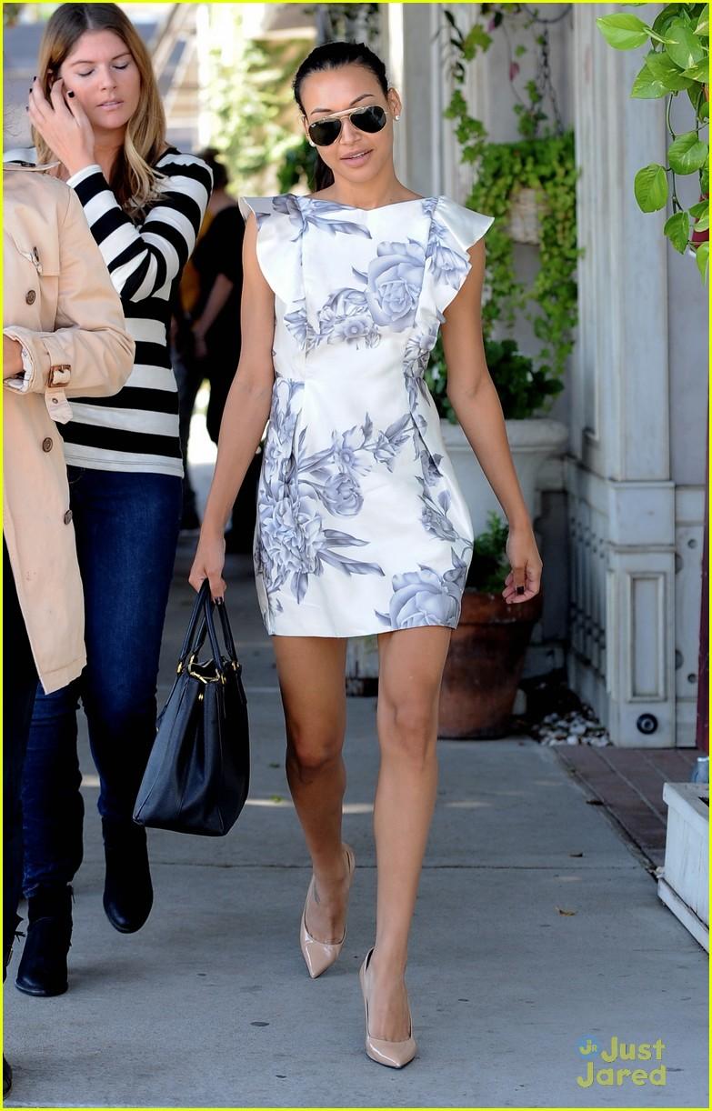 Naya Rivera: Wedding Dress Shopping with Kevin McHale!   Photo ...
