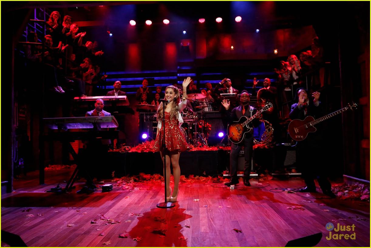 Ariana Grande: Rockefeller Tree Lighting & Late Night With
