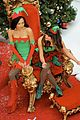 lea chris naya glee christmas scenes 02