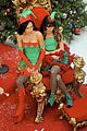 lea chris naya glee christmas scenes 10