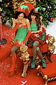 lea chris naya glee christmas scenes 17