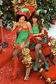 lea chris naya glee christmas scenes 20