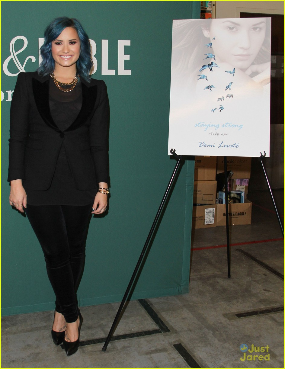 Demi Lovato Staying Strong Book Signing