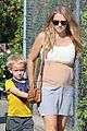 teresa palmer baby bump beautiful isaac webber 08