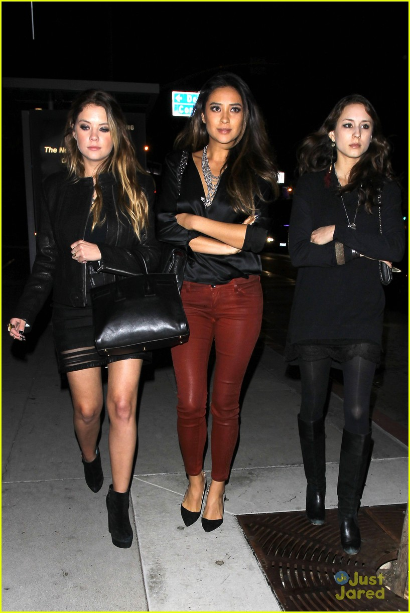 ashley benson shay mitchell pll wrap party troian bellisario 13
