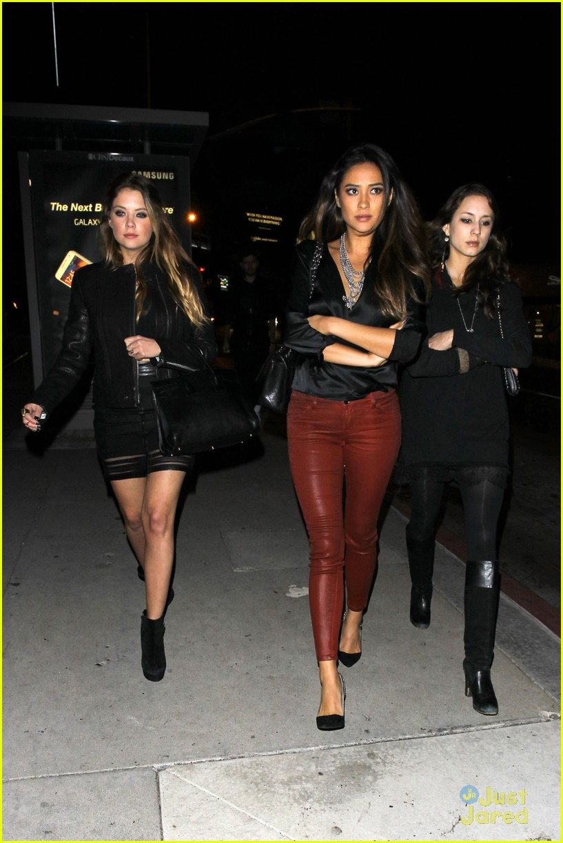 ashley benson shay mitchell pll wrap party troian bellisario 20