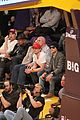 zac efron camera courtside lakers game 06