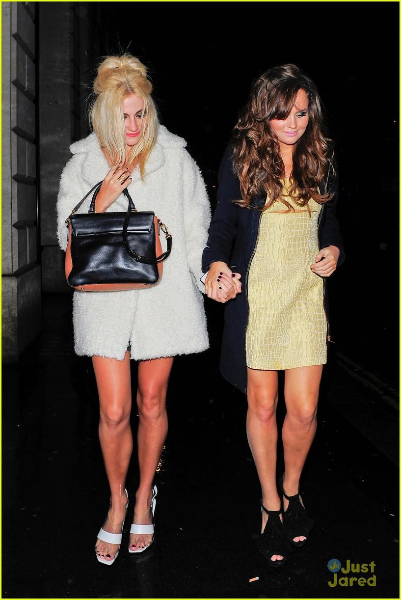 pixie lott girls night out in london 01
