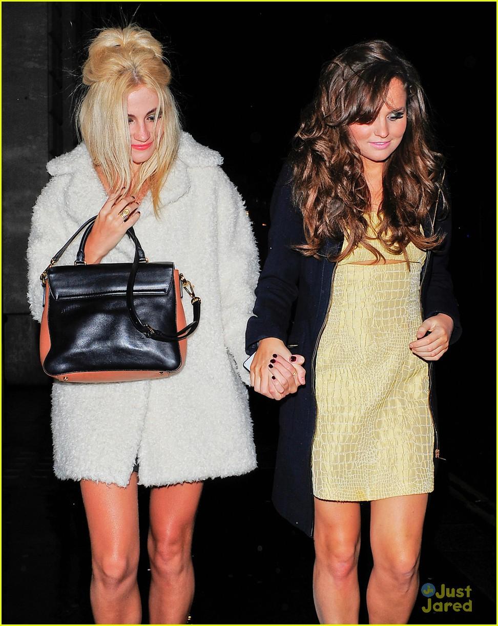 pixie lott girls night out in london 02