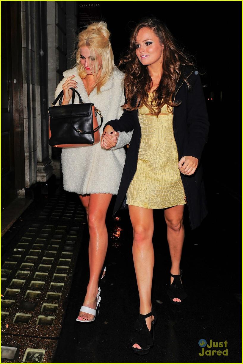 pixie lott girls night out in london 07