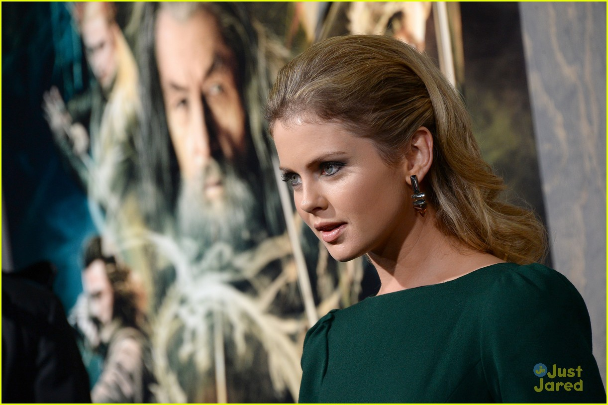 rose mciver: 'the hobbit: the desolation of smaug' premiere | photo