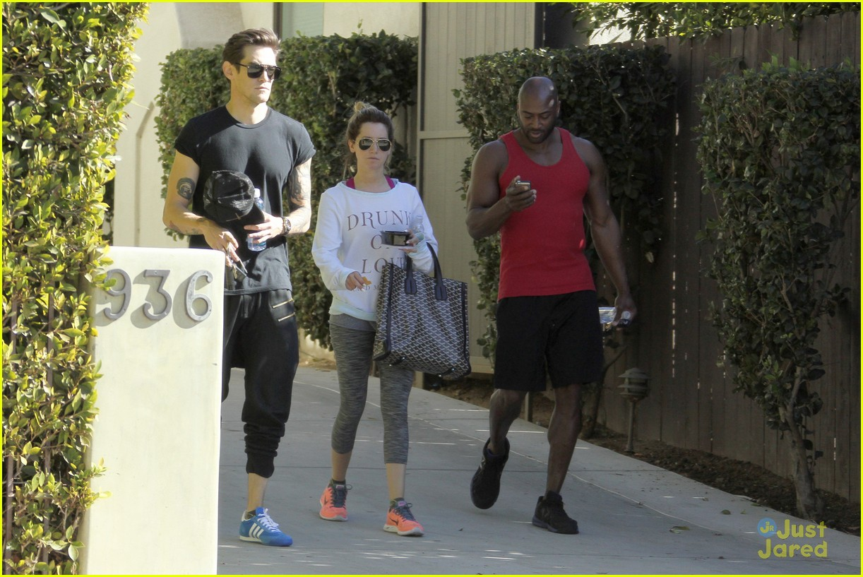 ashley tisdale christopher french mid week workout 13