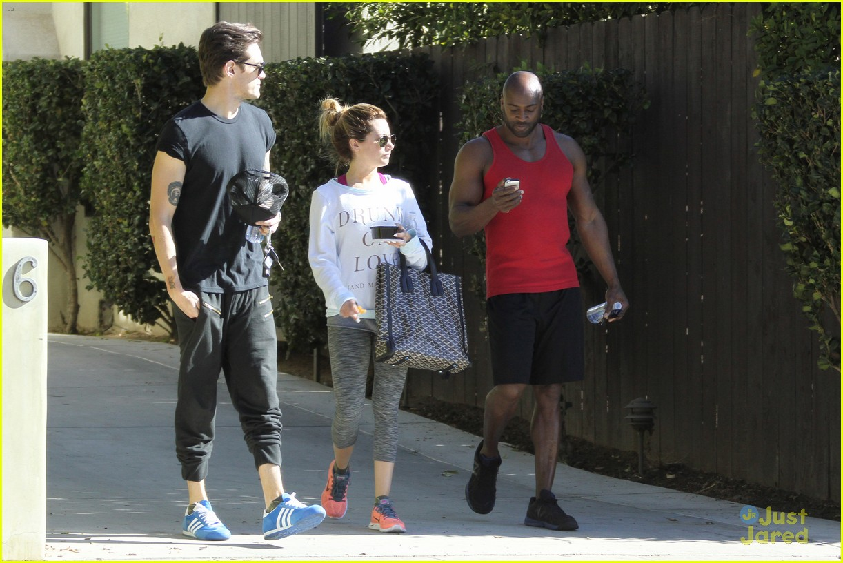 ashley tisdale christopher french mid week workout 18