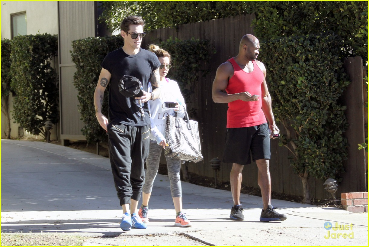 ashley tisdale christopher french mid week workout 21