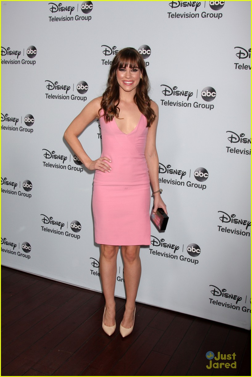 Christa B. Allen: ABC TCA Tour Party with Carly Chaikin & Molly ...