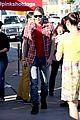 chord overstreet darren criss glee films on tour bus 02