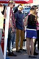 chord overstreet darren criss glee films on tour bus 30