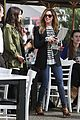 ashley tisdale shenae grimes lunch toast 06