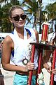 gigi hadid si beach volleyball tournament 10