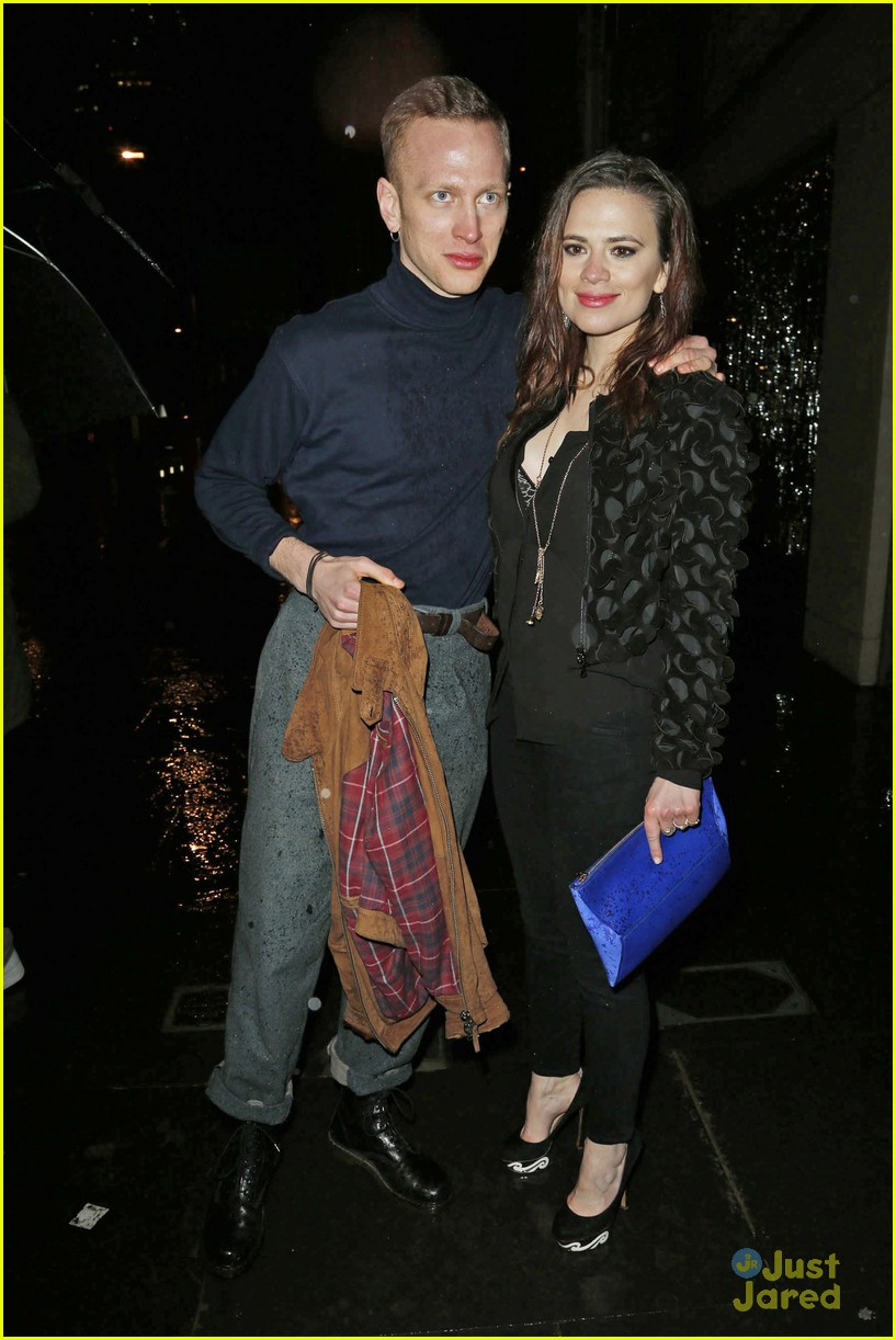 Cinderella's Hayley Atwell: London Fashion Week Party with Boyfriend Evan  Jones: Photo 644924 | Evan Jones, Hayley Atwell Pictures